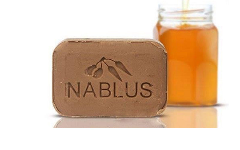 Nablus Natural Olive Oil Soap - Soft Honey