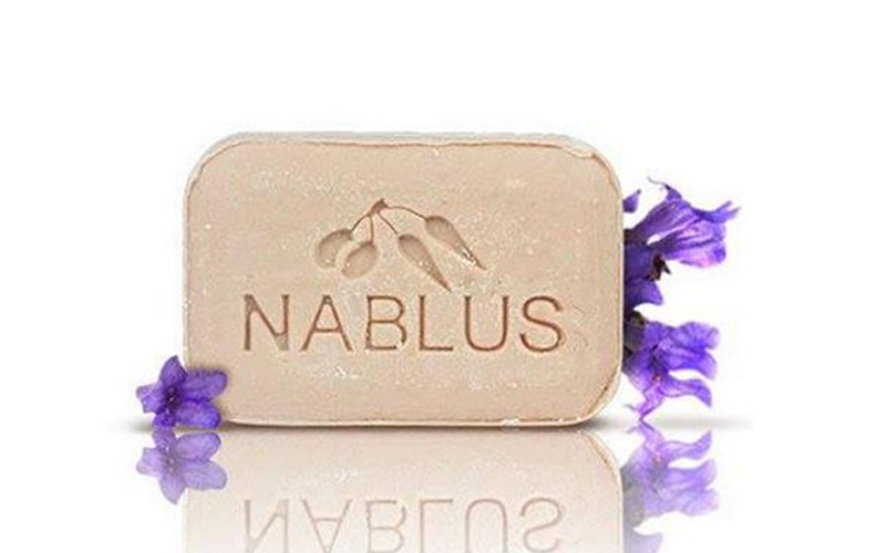 Nablus Natural Olive Oil Soap - Lavender