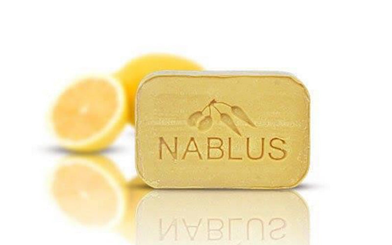 Nablus Natural Olive Oil Soap - Lemon