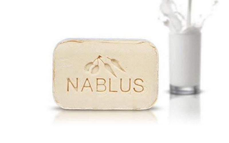 Nablus Natural Olive Oil Soap - Pure Milk