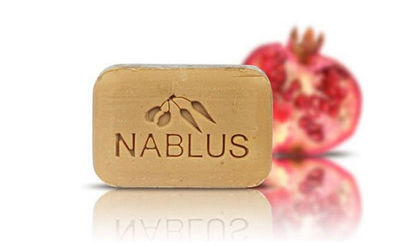Nablus Natural Olive Oil Soap - Pomegranate