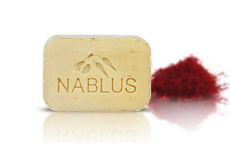 Nablus Natural Olive Oil Soap - Saffron