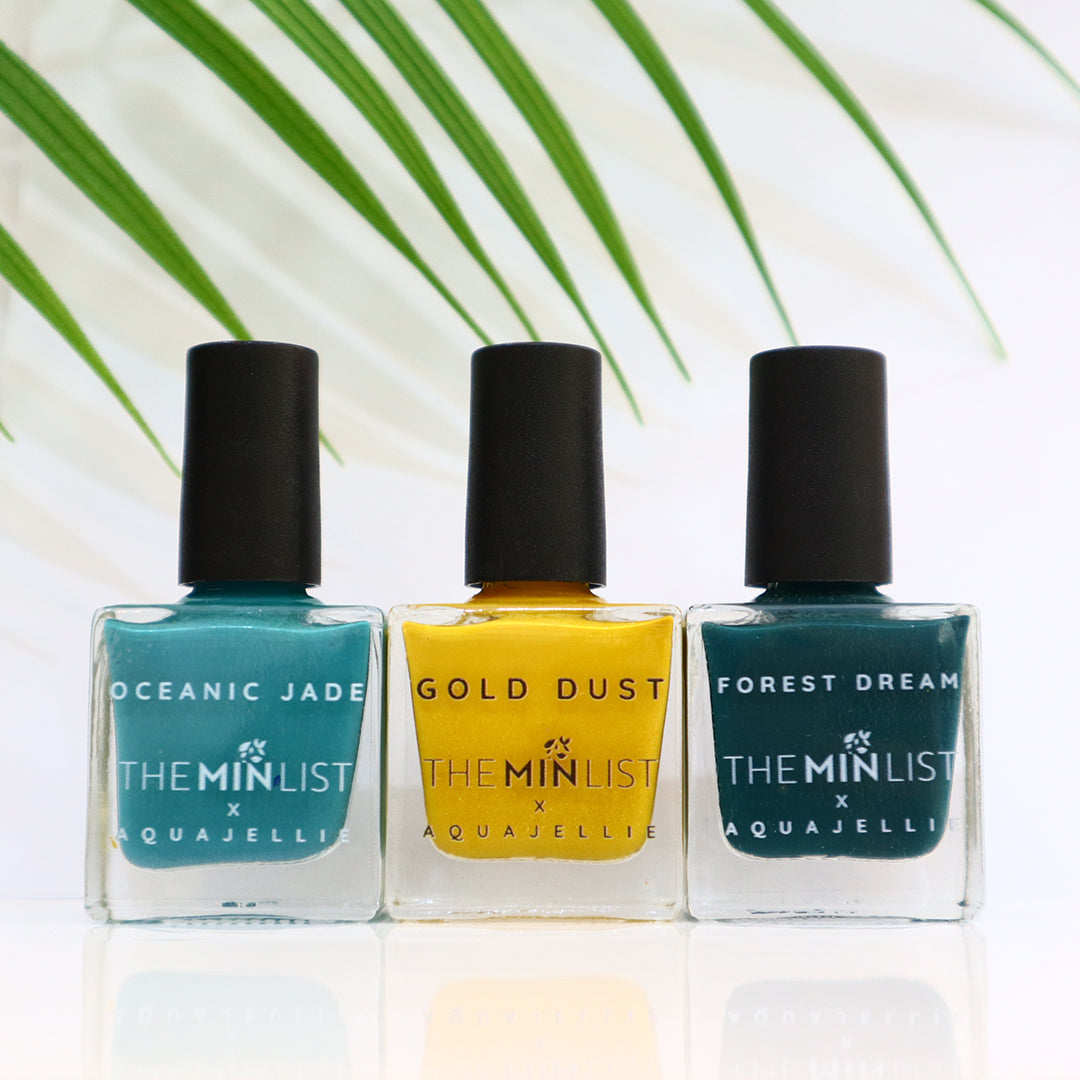 The Min List x Nail Deck Aquajellie