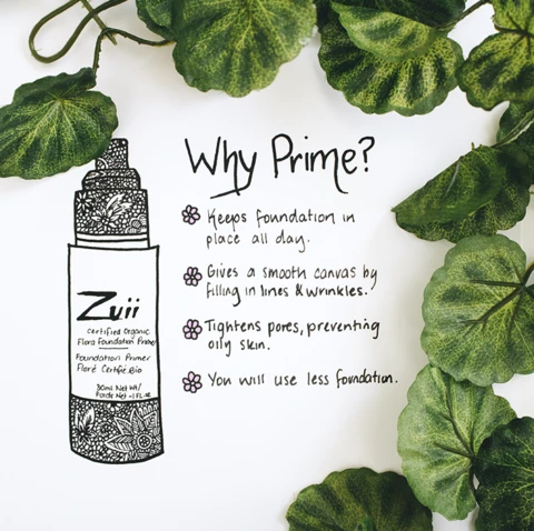 Zuii Organic Foundation Primer - mini