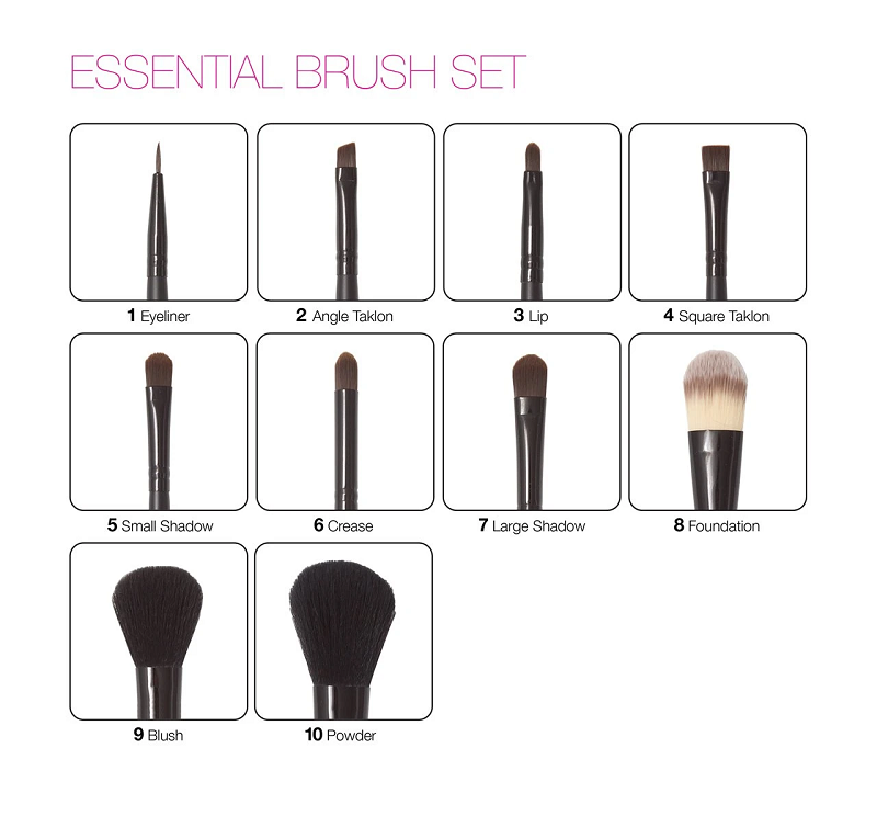 Zuii Organic 13pc Essential Brush Set