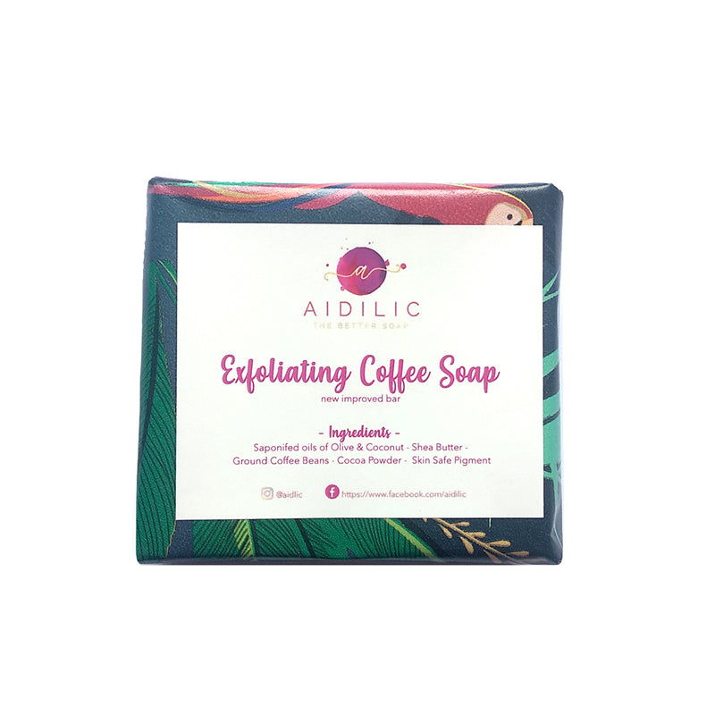 Aidilic Exfoliating Coffee Soap