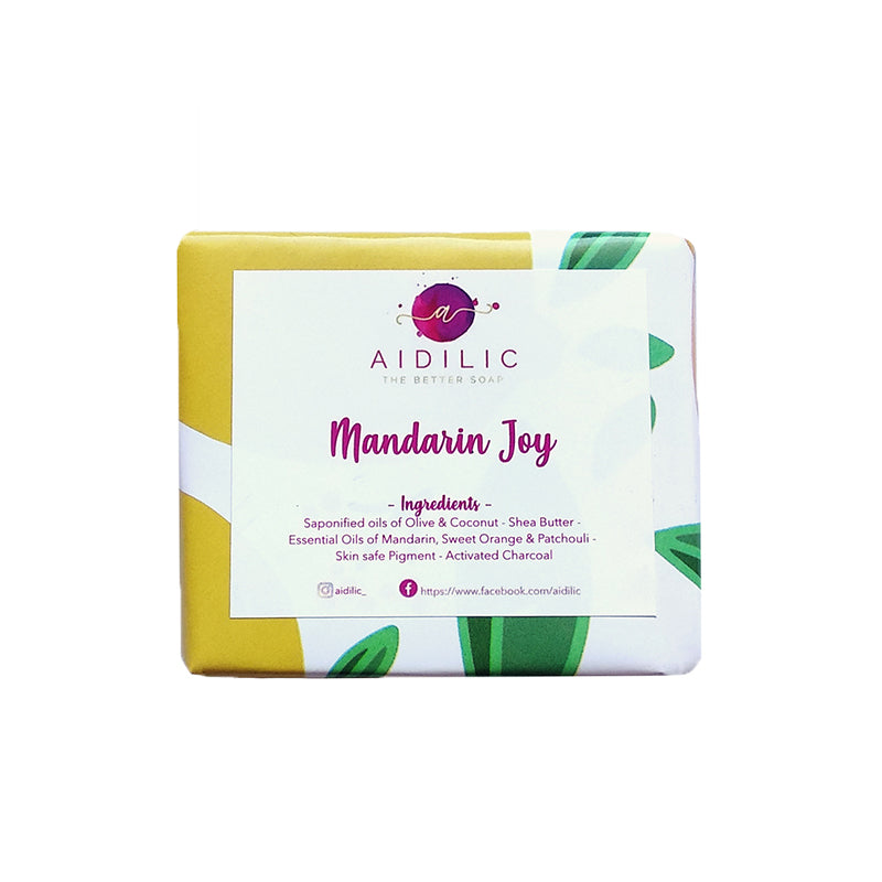 Aidilic Mandarin Joy Soap