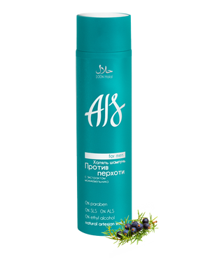 AIS Halal Anti-Dandruff Shampoo with juniper extracts (for men) - 250ml