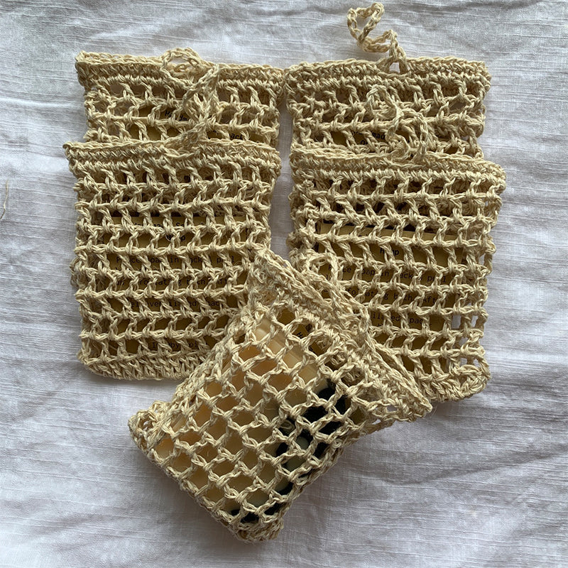 Byiroiro Mesh Soap Saver Sack (Hemp)