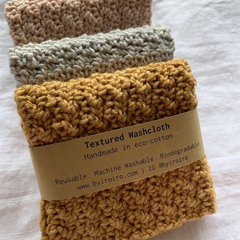 Byiroiro Textured Washcloth