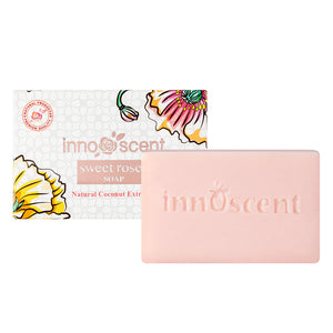 Innoscent Natural Coconut With Sweet Roses Soap