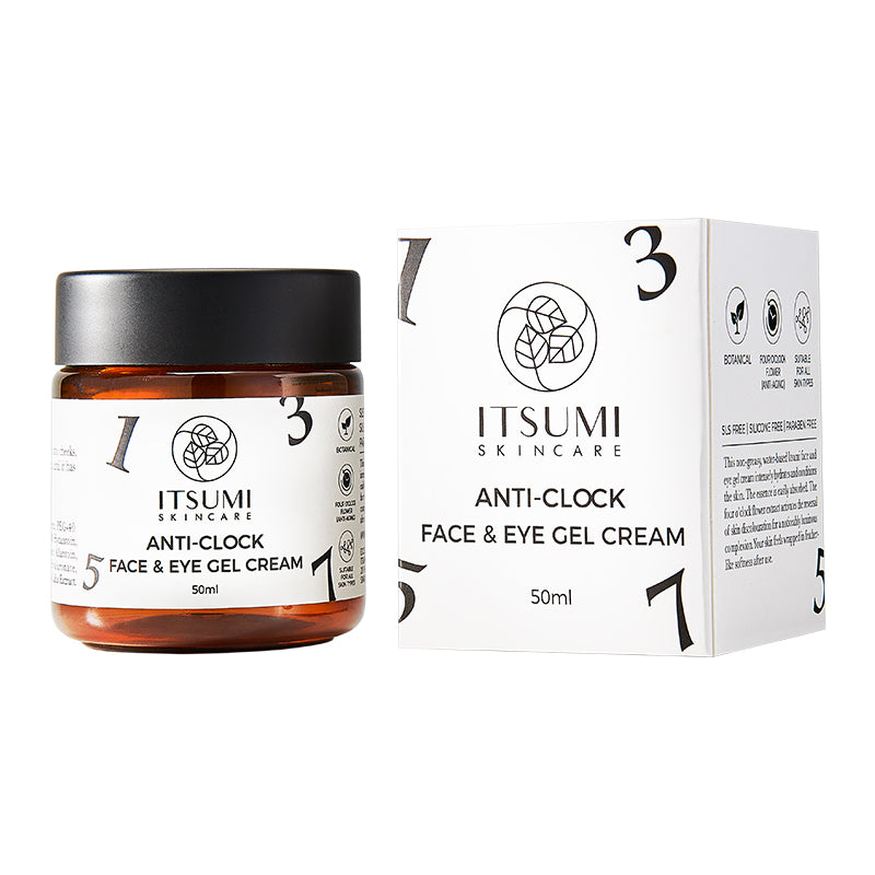 Itsumi Anti-clock Face & Eye Gel Cream - 50ml
