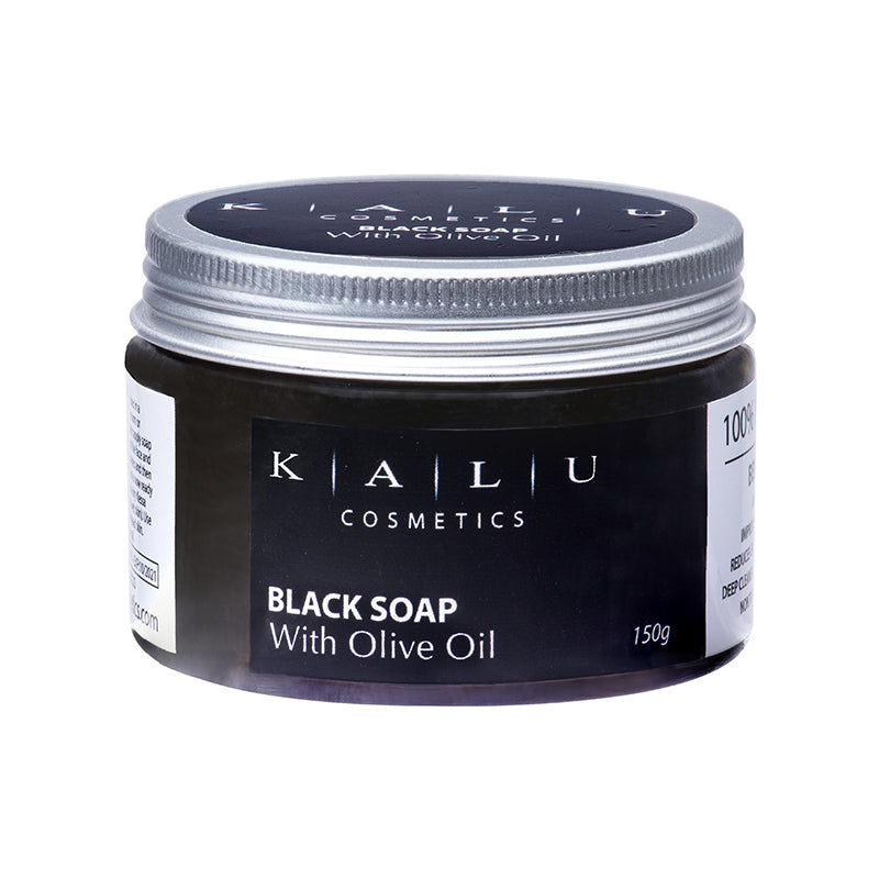 Kalu Cosmetics Moroccan Black Soap