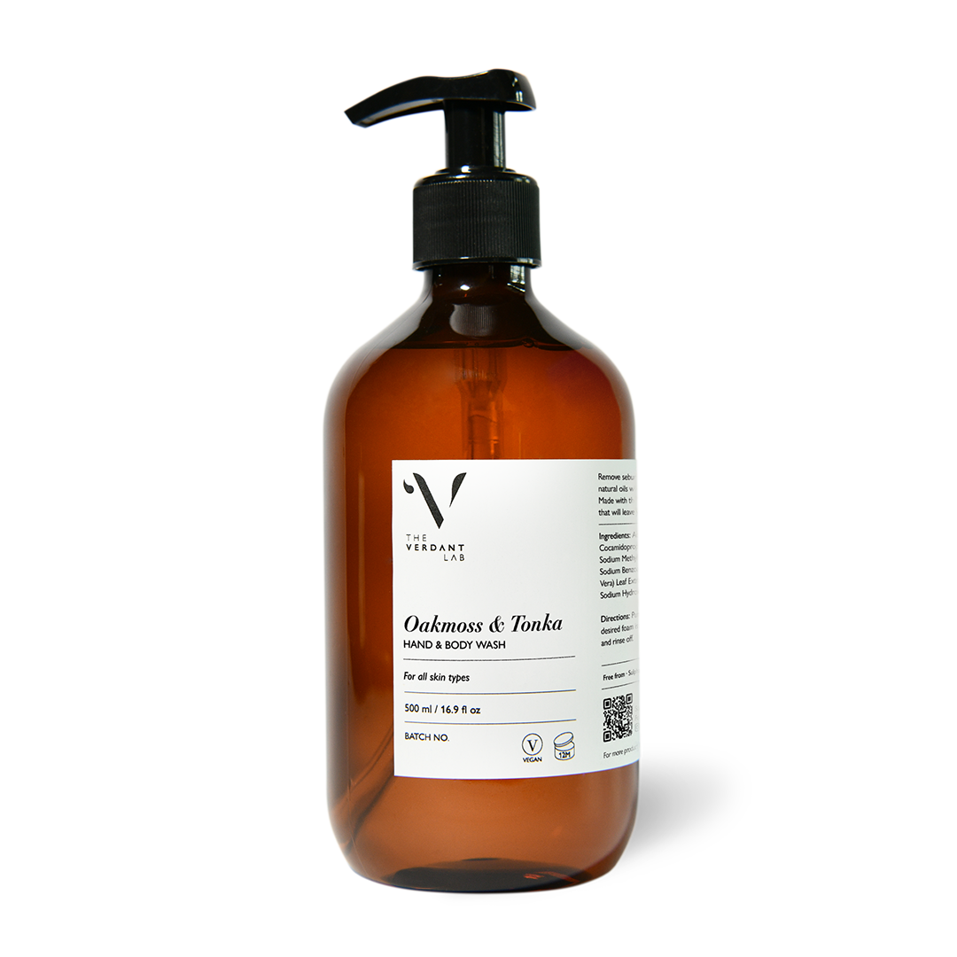 The Verdant Lab Oakmoss & Tonka Hand & Body Wash