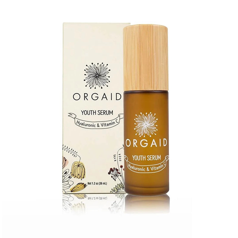 ORGAID Youth Serum, Hyaluronic and Vitamin C