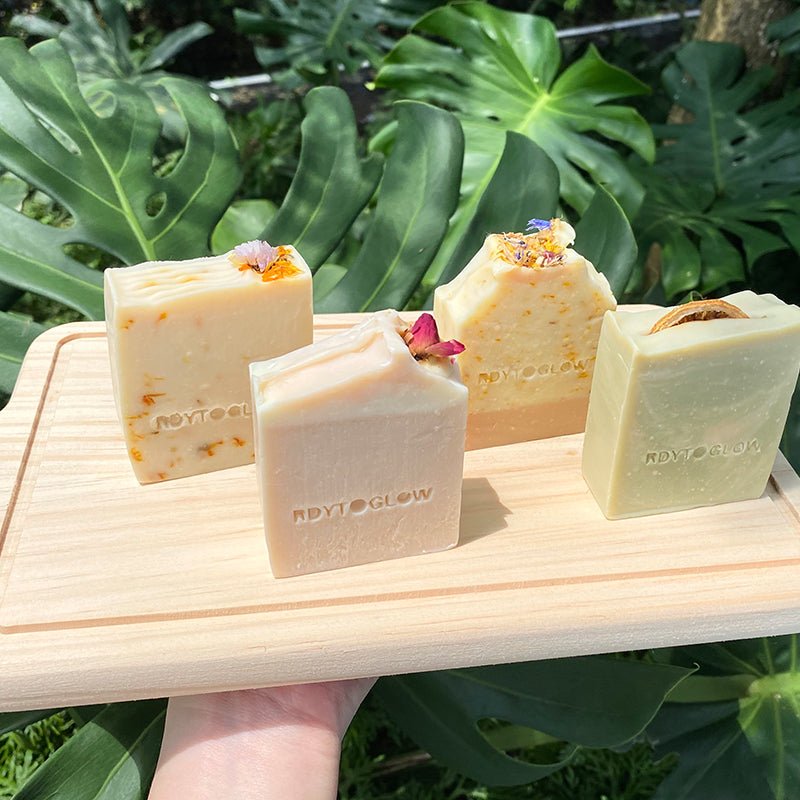 RdytoGlow Garden Party Vegan Soap