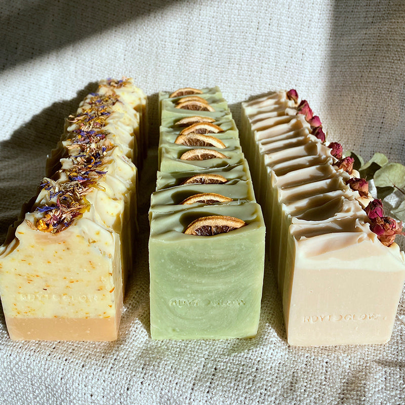 RdytoGlow Wildflower Blooms Vegan Soap
