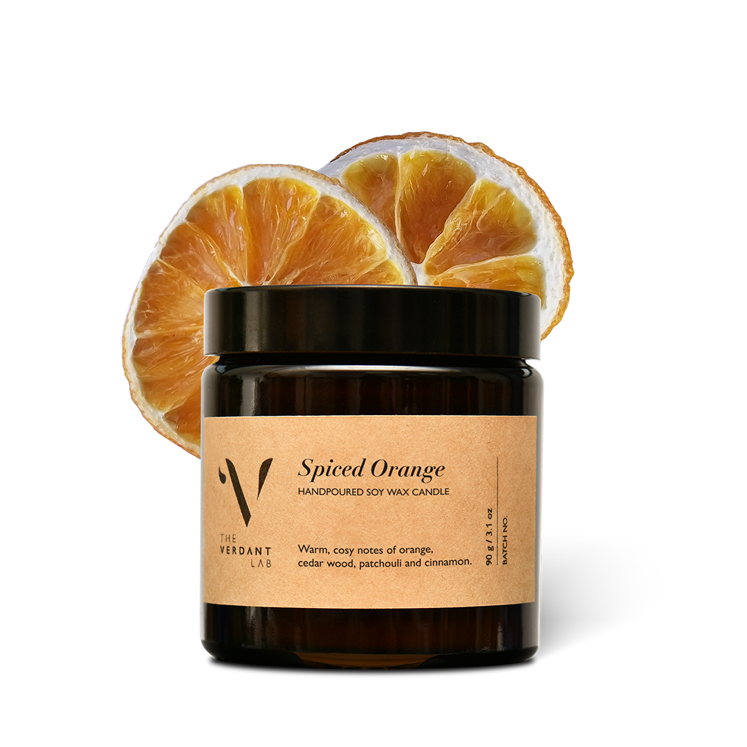 The Verdant Lab Spiced Orange Soy Wax Candle