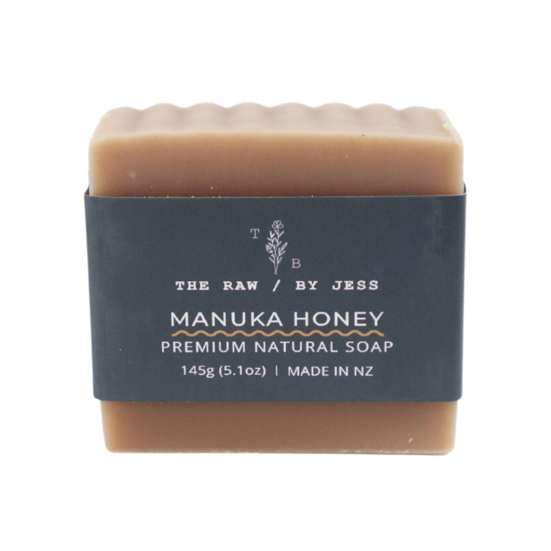 THE RAW BY JESS - Manuka Honey Soap