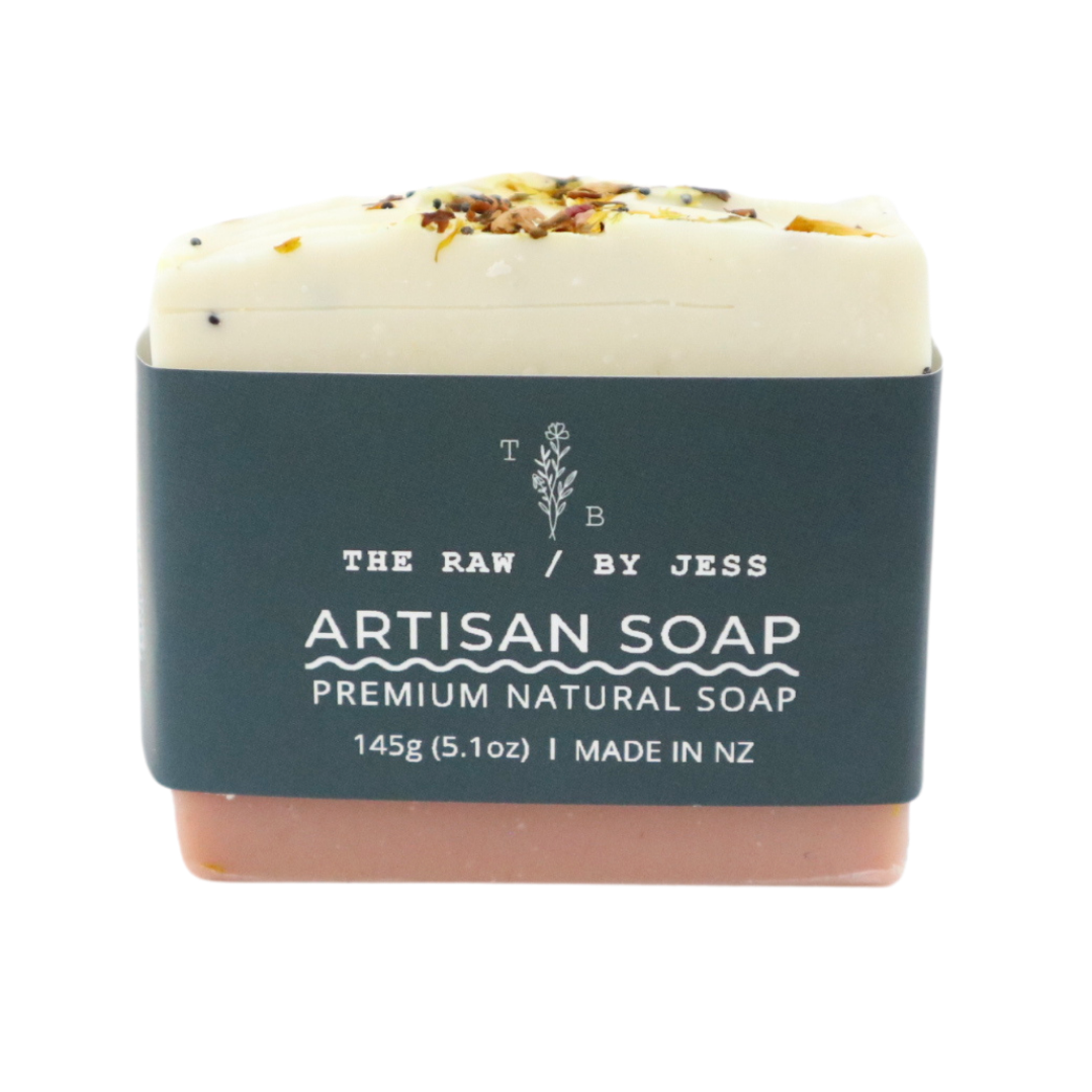 THE RAW BY JESS - Rose Cake Soap