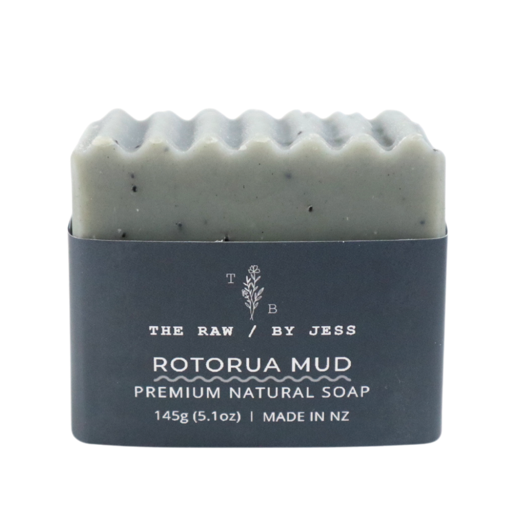 THE RAW BY JESS - Rotorua Mud Soap
