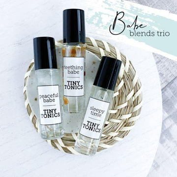 Essential Oil Roller Blends | Babe Calming Trio