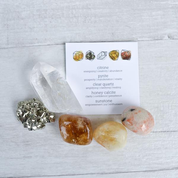 Motivate & Manifest Crystal Kit Crystals