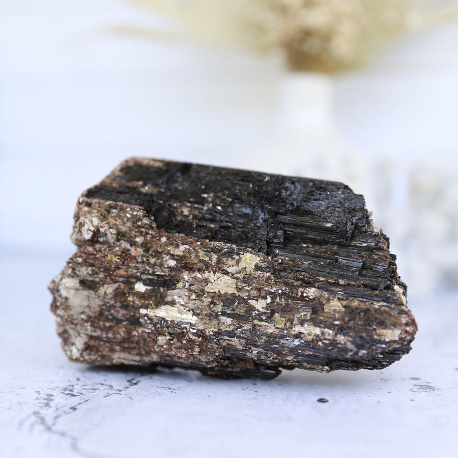 Black Tourmaline With Mica | 1.3kg Crystals