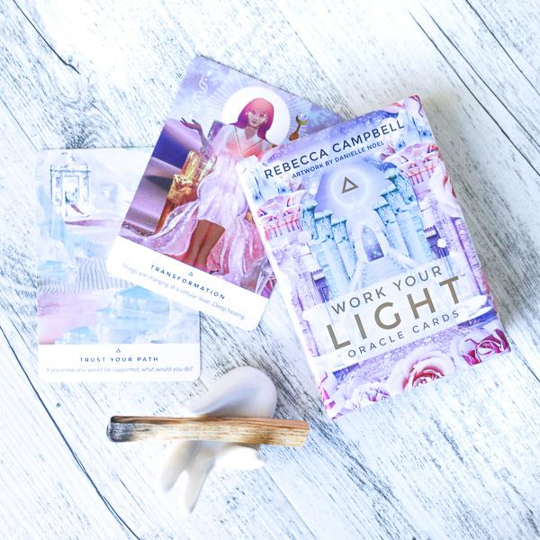 Work Your Light | Oracle Cards | Rebecca Campbell Crystals