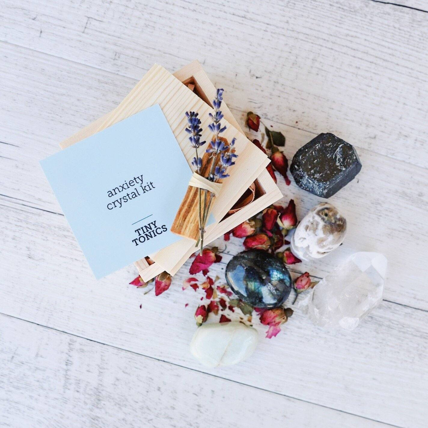 Anxiety Crystal Kit
