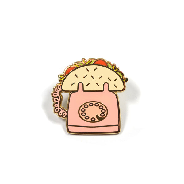 *Imperfect* Let's Taco Bout it Lapel Pin