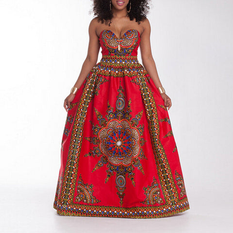 African Boho Women Summer Dress - AFRO'TIQUE