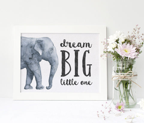 Dream big little one, nursery wall art, tribal nursery decor, southwest charm nursery