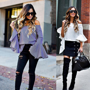 Bell Flare Sleeve Top