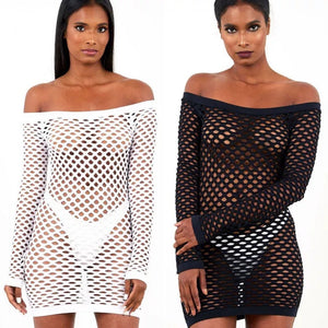 Crochet Bikini Beach Cover Up dress