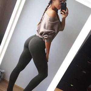 Slim Waist-Butt Enhancement-Scrunch Leggings