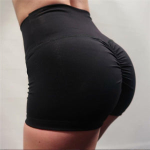 Peach Scrunch Workout Shorts