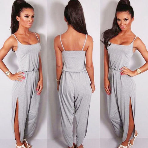 Fashion Gray Jumpsuit