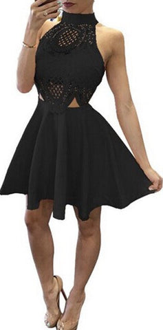 Adelyn Midnight Sleeveless Mini Dress