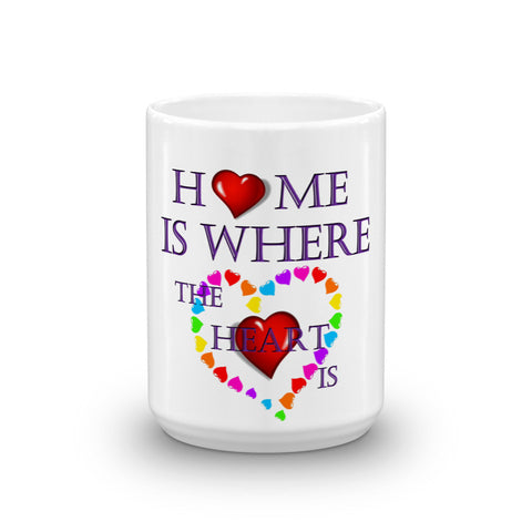 01-15-02-01 Mug, Ceramic-Words to Live By, Home-Heart1