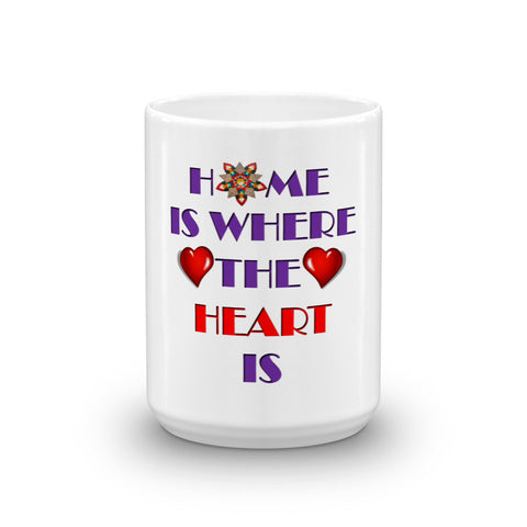 01-15-02-02 Mug, Ceramic-Words to Live By, Home-Heart2
