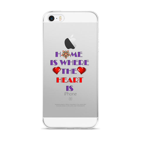 01-16-02-02 iPhone Case, Words to Live By, Home-Heart2