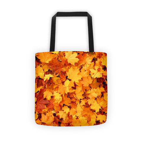 01-17-04-02 Tote bag-Eva's Leafy Power, Fall Maple1
