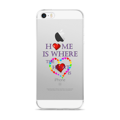 01-16-02-01 iPhone Case, Words to Live By - Home-Heart1