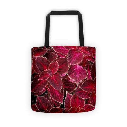 01-17-04-01 Tote bag-Eva's Leafy Power, Red Wizard1
