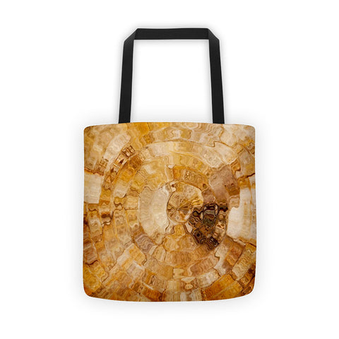 01-17-06-01 Tote bag-Mia's Golden Marble