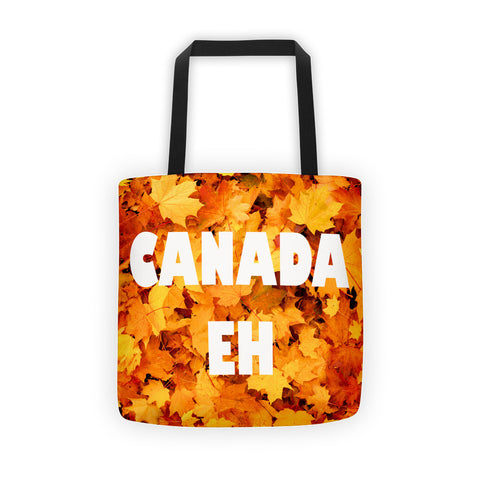 01-17-03-03 Tote bag-Eva's Leafy Power, Canada Eh Maple1