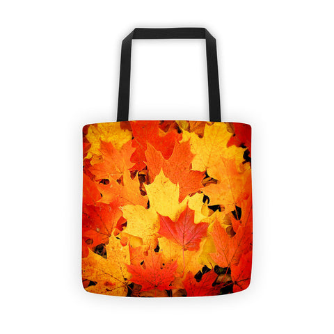 01-17-04-03 Tote bag-Eva's Leafy Power, Fall Maple2