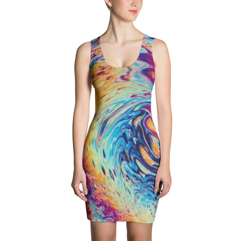 01-02-03-04 Dress, Fit, Mia's Colorful Swirl