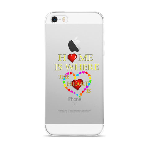 01-16-02-03 iPhone Case, Words to Live By - Home-Heart3